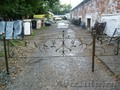 Оградка кованая, ограда ритуальная,  ритуальные ограды, оградки