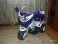 Продаю детский мотоцикл с аккумулятором 3-х колесный.