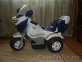Продаю детский мотоцикл с аккумулятором 3-х колесный