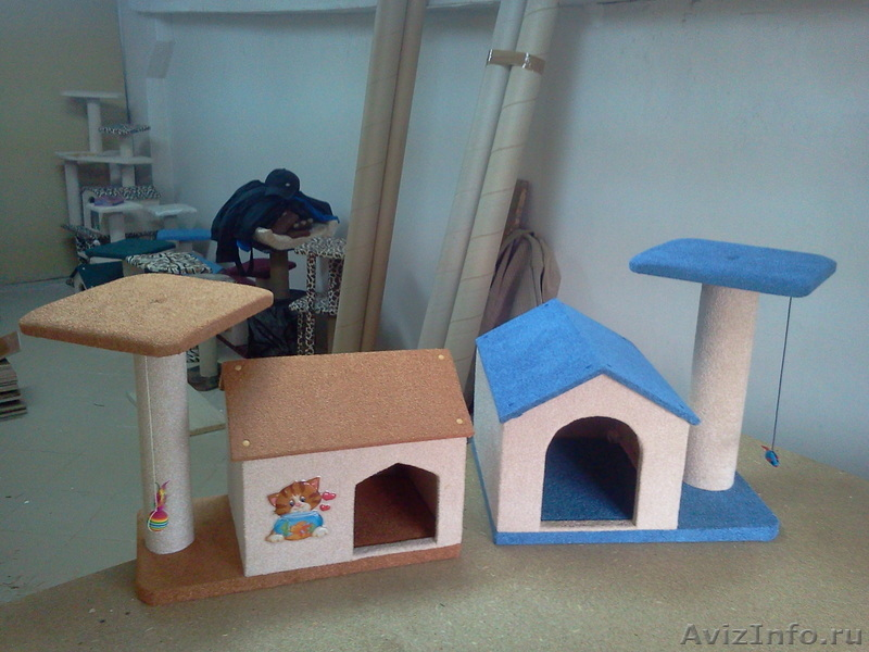 Фото кошкин дом своими руками