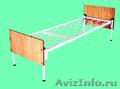 двухъярусные металлические кровати недорого, одноярусные кровати для больниц - Изображение #6, Объявление #695592