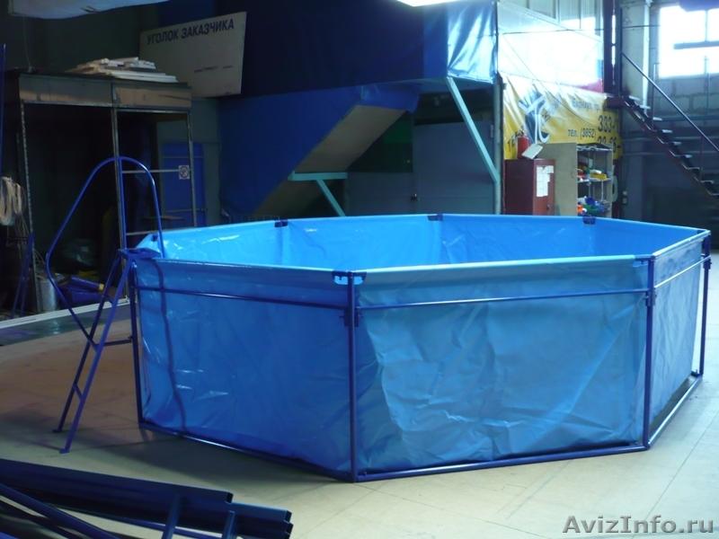 Каркасный бассейн своими руками из пвх