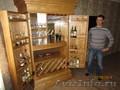 Мебель для кафе и ресторанов. Шкаф-бар винный из массива берёзы на заказ. - Изображение #6, Объявление #1073319