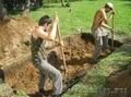 Разнорабочие, грузчики, земельные работы