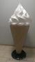 Рекламный макет мороженое Рожок