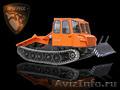 Трелевочный трактор МСН-10 с трехместной кабиной. Новая модель..